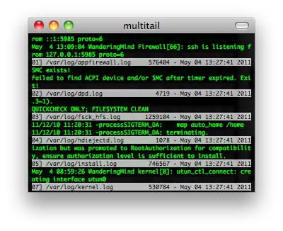 multitail screenshot